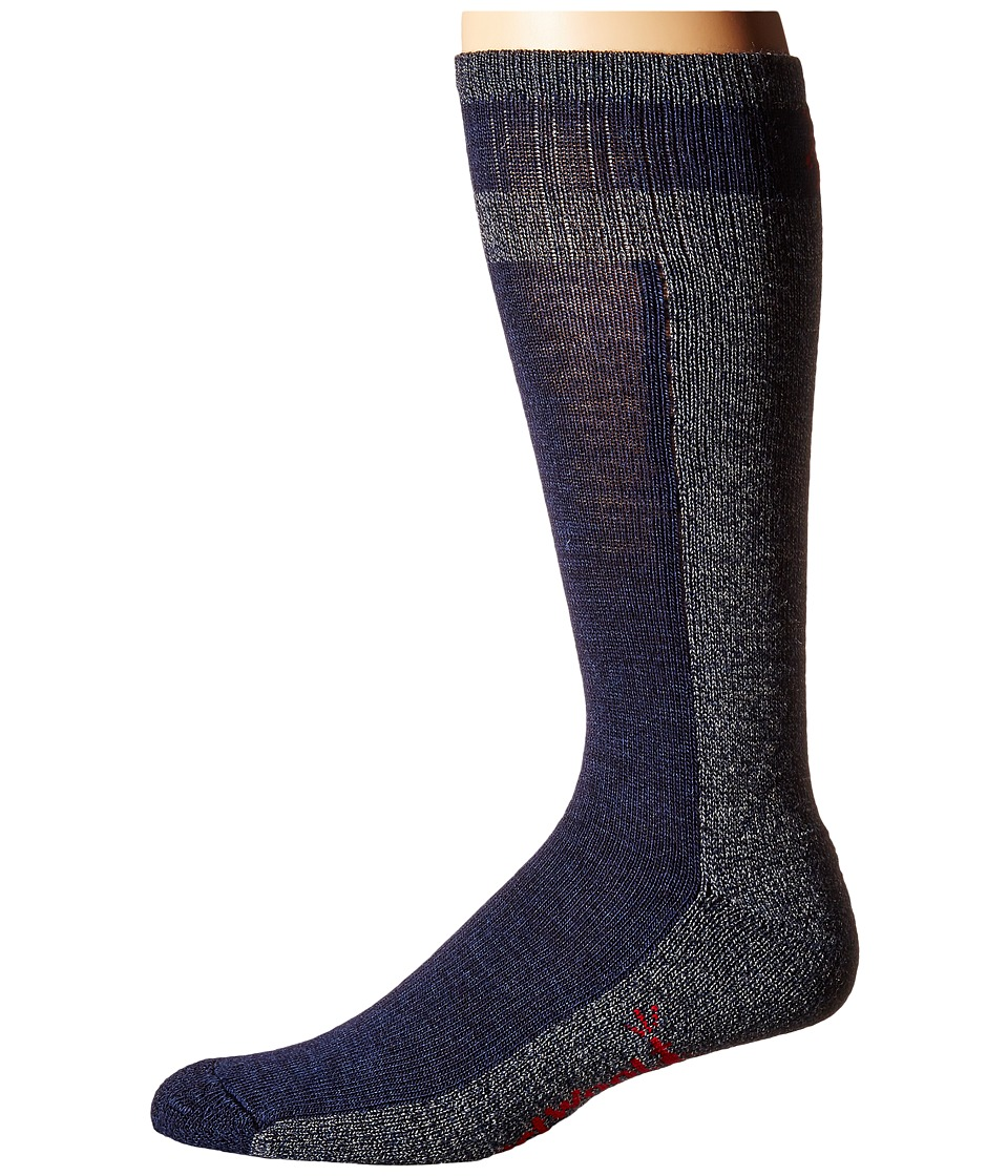 Smartwool - Traverser (Deep Navy Heather) Men's Crew Cut Socks Shoes