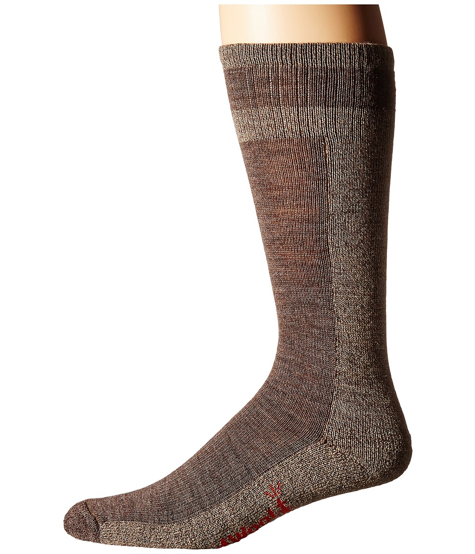Smartwool - Traverser (Taupe) Men's Crew Cut Socks Shoes