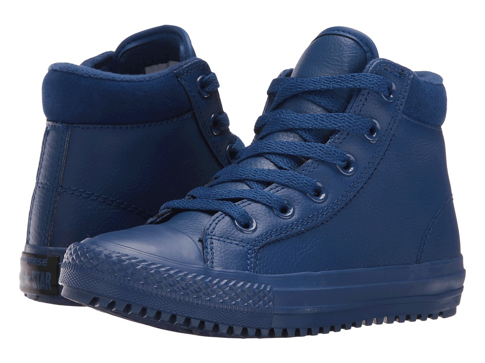 Converse Kids - Chuck Taylor All Star Boot PC (Little Kid/Big Kid) (Roadtrip Blue/Obsidian/Roadtrip Blue) Boy's Shoes