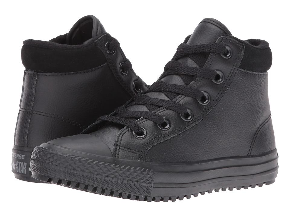 Converse Kids - Chuck Taylor All Star Boot PC (Little Kid/Big Kid) (Black/Thunder/Black) Boy's Shoes