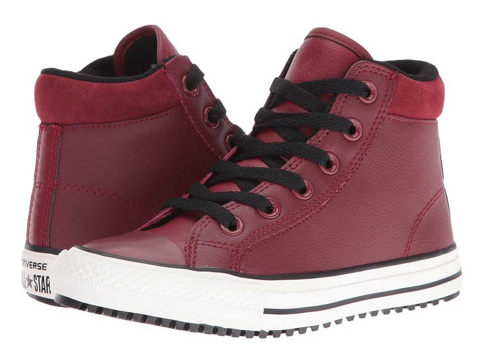 Converse Kids - Chuck Taylor All Star Boot PC (Little Kid/Big Kid) (Red Block/Black/Egret) Boy's Shoes