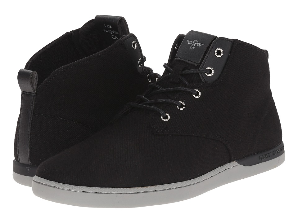 Creative Recreation - Vito (Black Suit Grey) Men's Lace up casual Shoes
