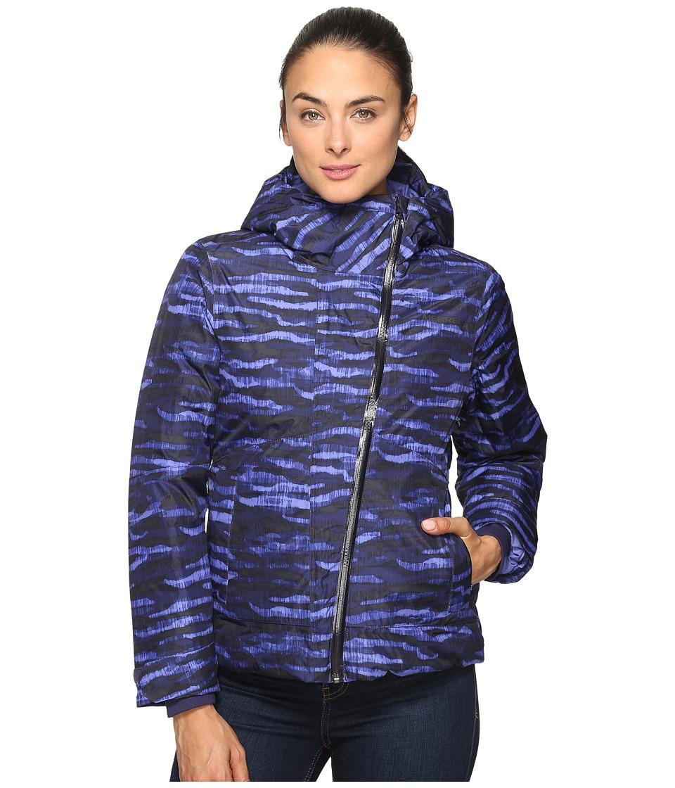 Merrell - Copenhagen Featherless Jacket (Violet Storm Print) Women's Coat
