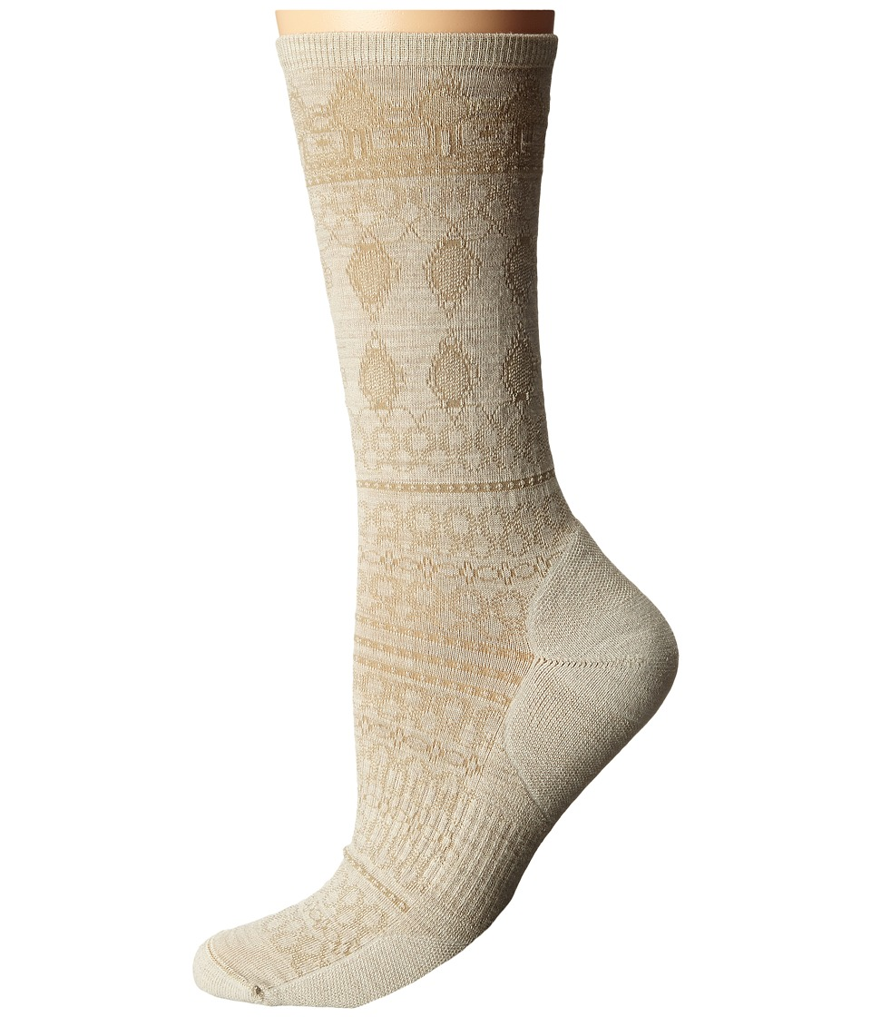 Smartwool - Lacet Crew (Natural Heather) Women's Crew Cut Socks Shoes