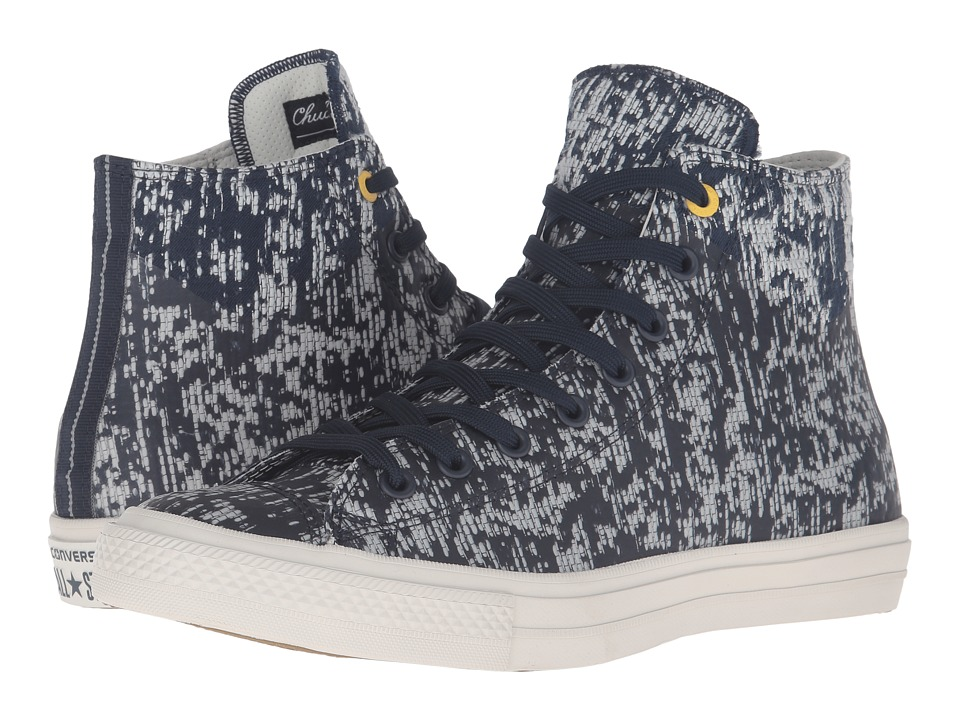 Converse - Chuck Taylor All Star II Translucent Rubber Hi (Obsidian/Buff/Bitter Lemon) Lace up casual Shoes