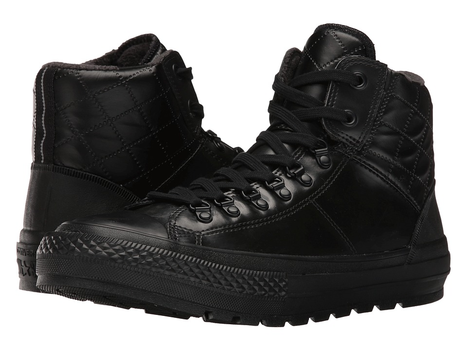 Converse - Chuck Taylor All Star Street Hiker Hi (Black/Black/Black) Men's Lace up casual Shoes