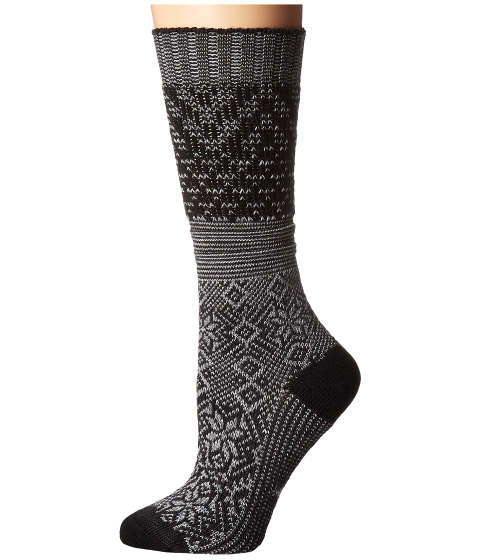 Smartwool - Snowflake Flurry (Charcoal Heather) Women's Knee High Socks Shoes
