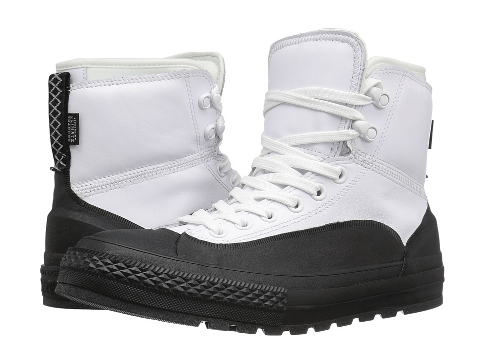 Converse - Chuck Taylor All Star Tekoa Waterproof (White/Black/White) Men's Waterproof Boots