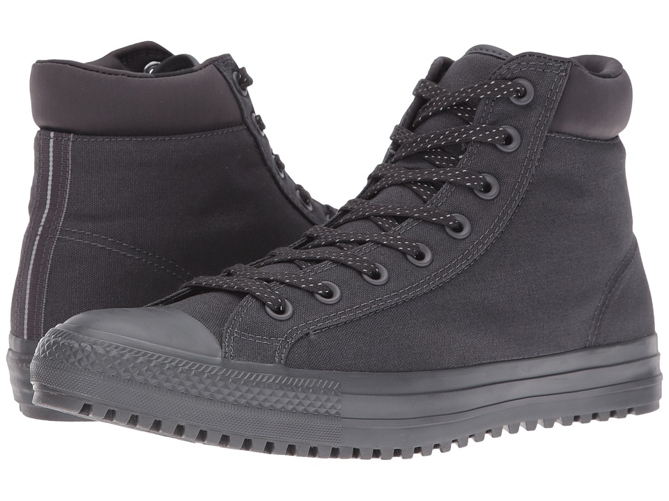 Converse - Chuck Taylor All Star Boot PC Shield Canvas Hi (Almost Black/Almost Black/Reflective) Men's Lace-up Boots