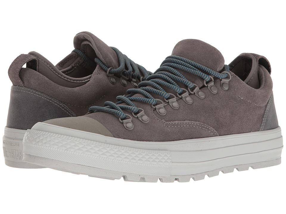 Converse - Chuck Taylor All Star Descent Ox (Charcoal Grey/Ash Grey/Blue Lagoon) Men's Lace up casual Shoes