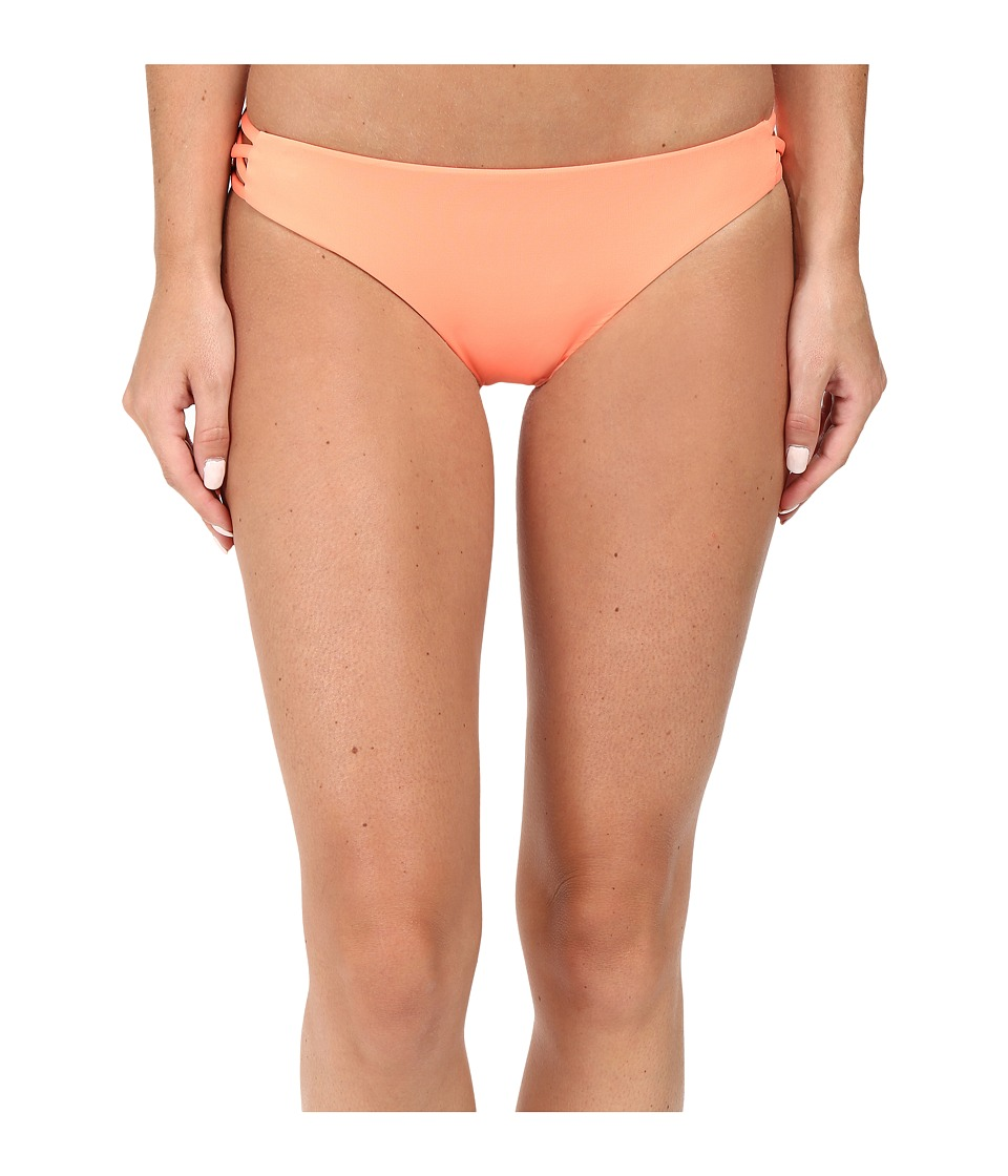 Roxy - Strappy Me 70's Bottom (Candied Orange) Women's Swimwear