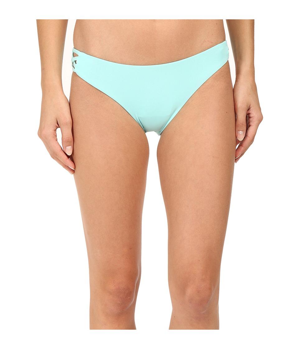 Roxy - Strappy Me 70's Bottom (Angel Blue) Women's Swimwear
