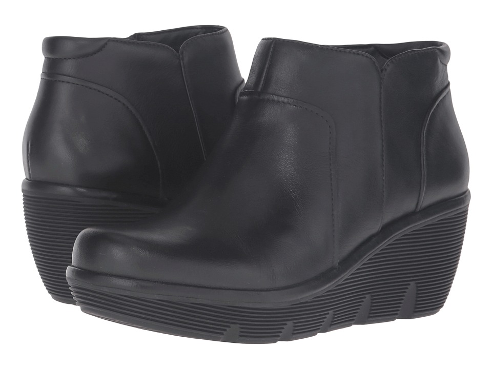 Clarks - Clarene Sun (Black Leather) Women's Boots