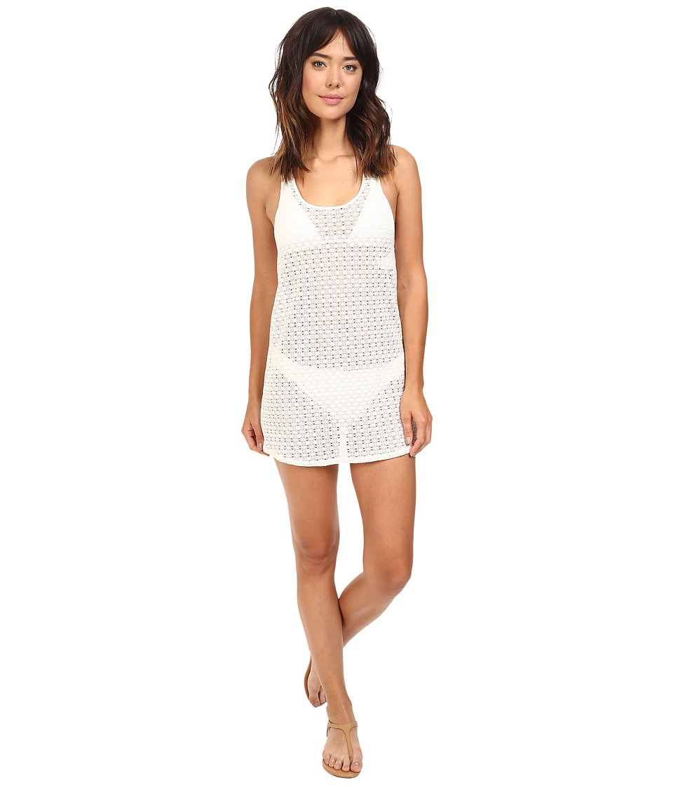 Roxy - Crochet Sporty Dress Cover-Up (Sea Spray) Women's Swimwear