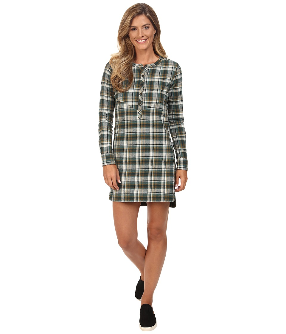 Merrell - Vagabond Flannel Tunic Dress (Beech Plaid) Women's Dress