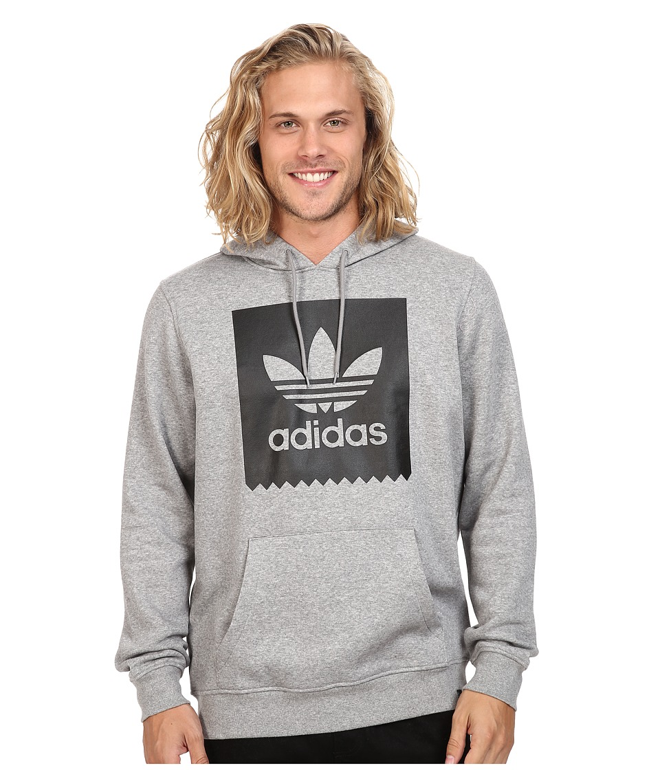 adidas Skateboarding - Blackbird Basic Hoodie (Core Heather/Black) Men's Sweatshirt