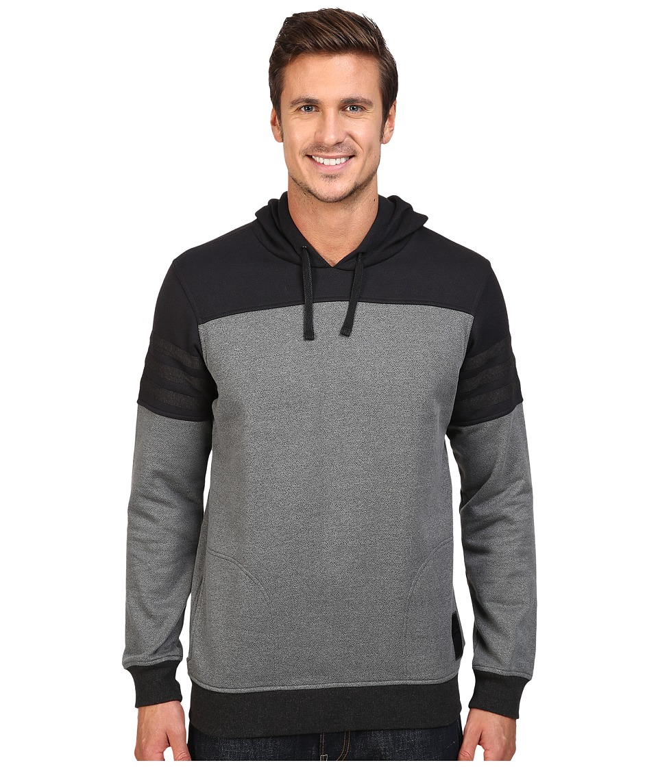 adidas Skateboarding - Elevated Hoodie (Black/Black Melange) Men's Sweatshirt