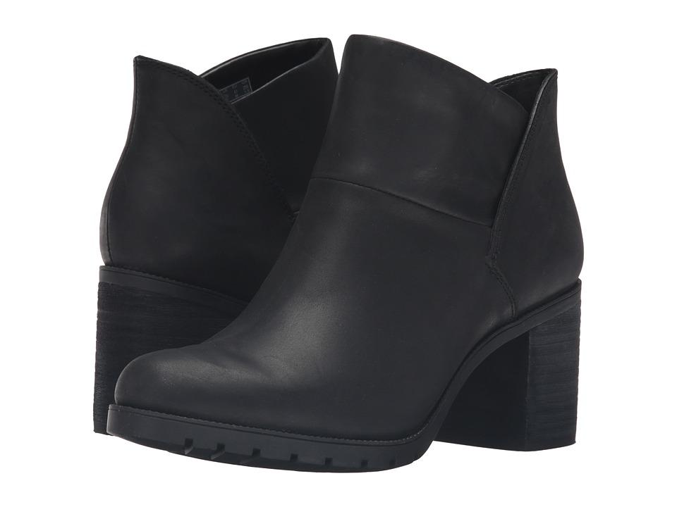 Clarks - Malvet Helen (Black Nubuck) Women's Boots