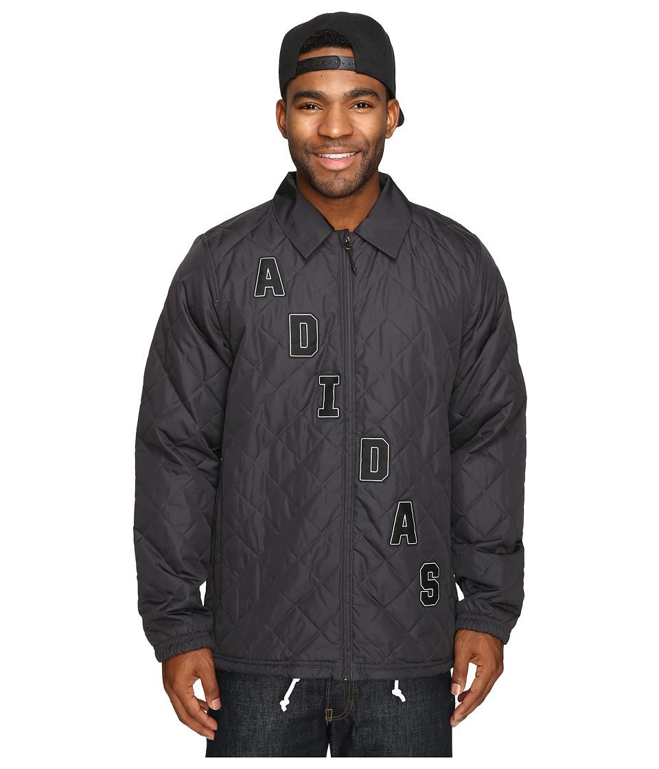 adidas Skateboarding - Uncoaches Jacket (Utility Black) Men's Coat