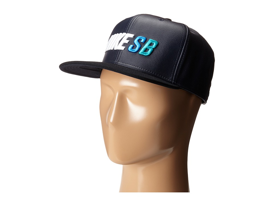 Nike SB - S+ Seat Cover Trucker Hat (Black) Caps