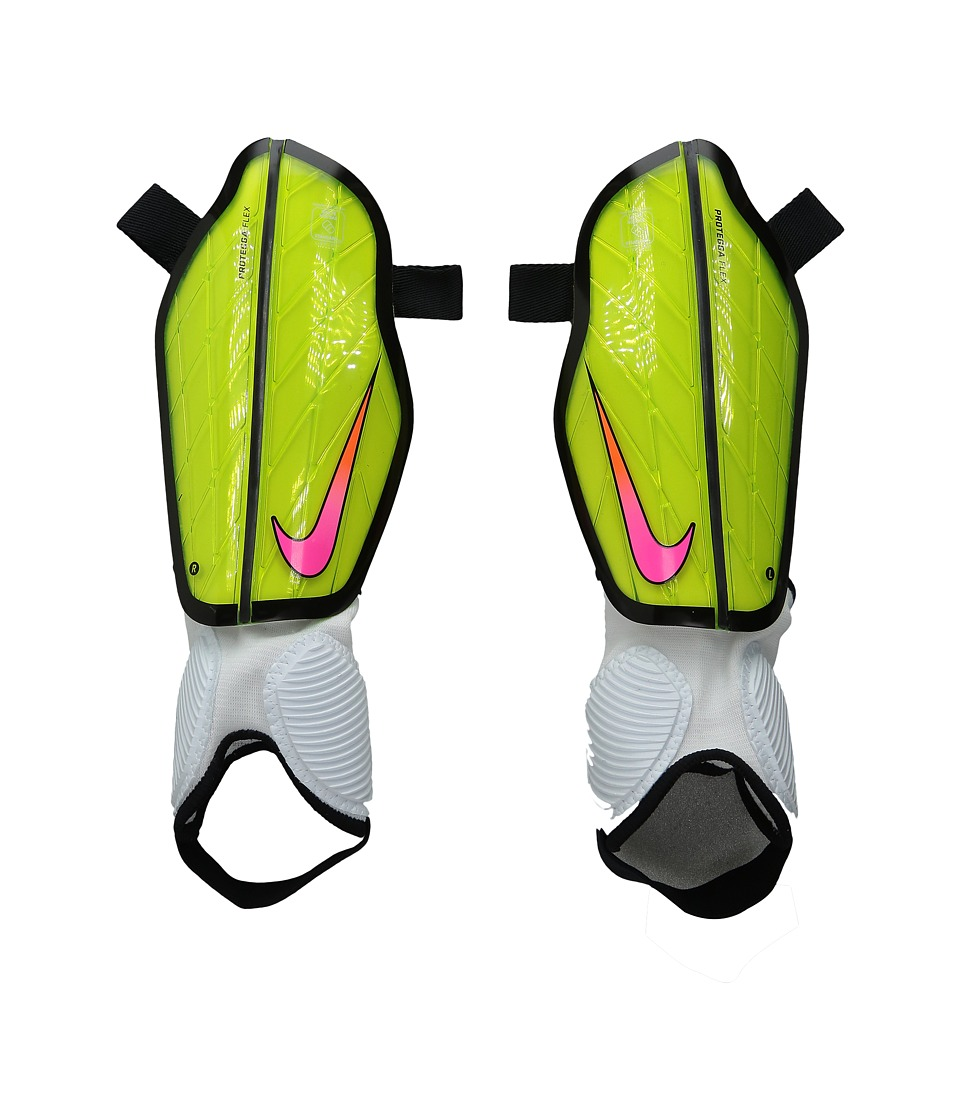 Nike - Attack Stadium (Volt/Black/Pink Blast) Athletic Sports Equipment