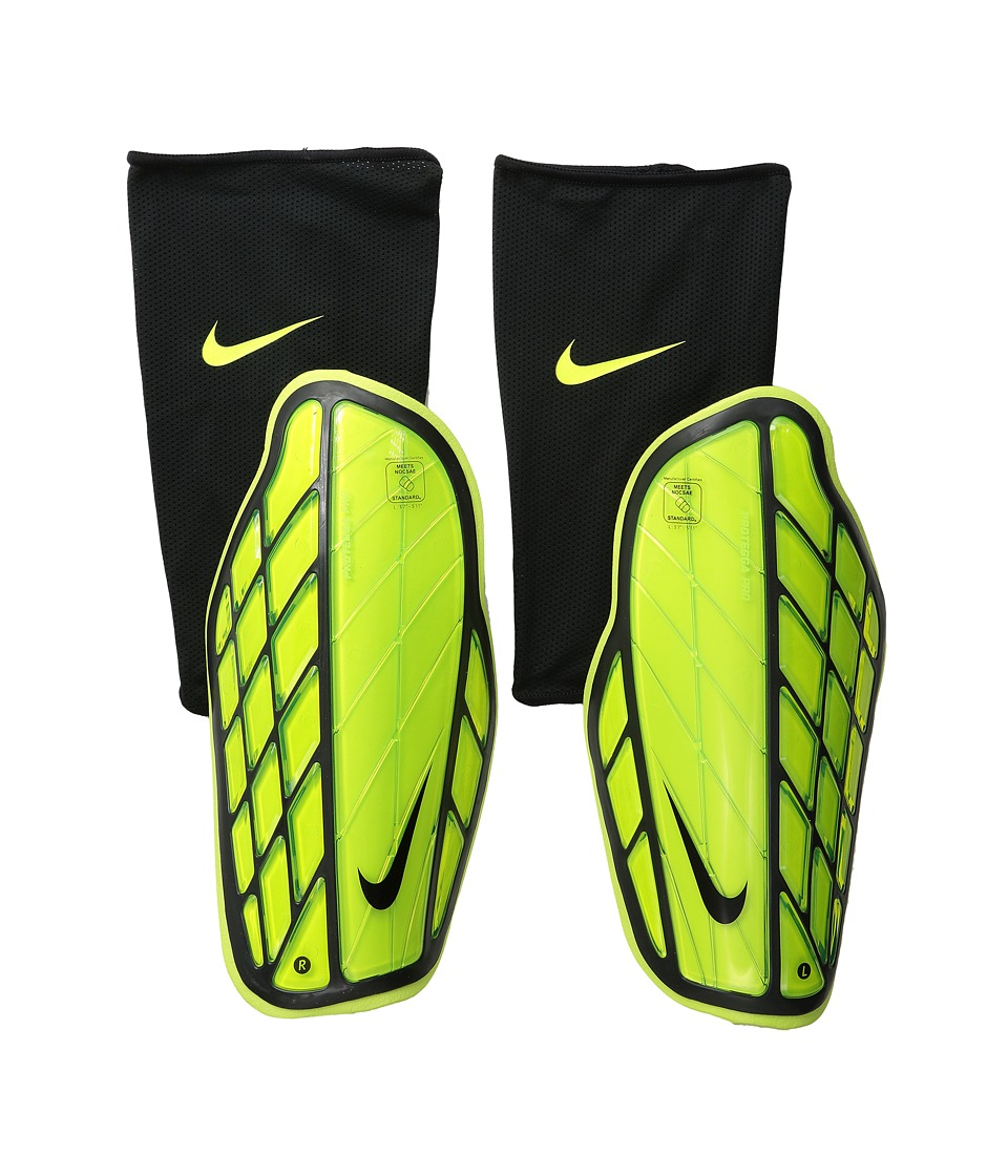Nike - Attack Premium (Volt/Black/Black) Athletic Sports Equipment