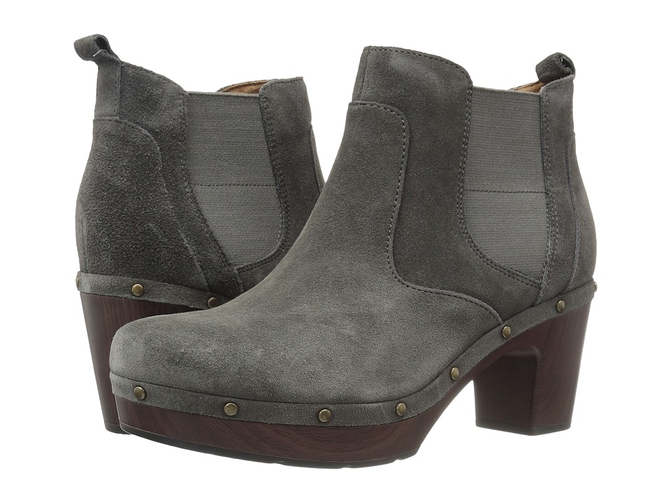 Clarks Ledella Star (Dark Grey Suede) Women