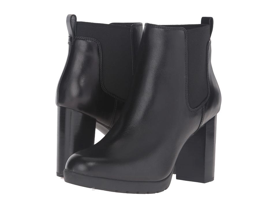 Clarks - Elipsa Dee (Black Leather) Women's Boots