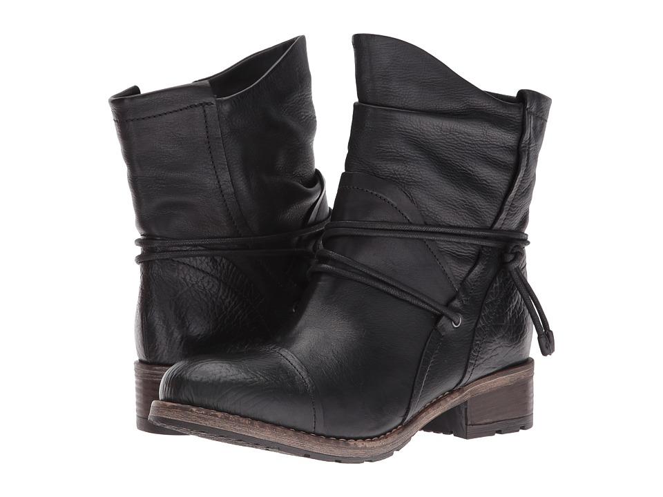 Clarks - Volara Dina (Black Leather) Women's Boots
