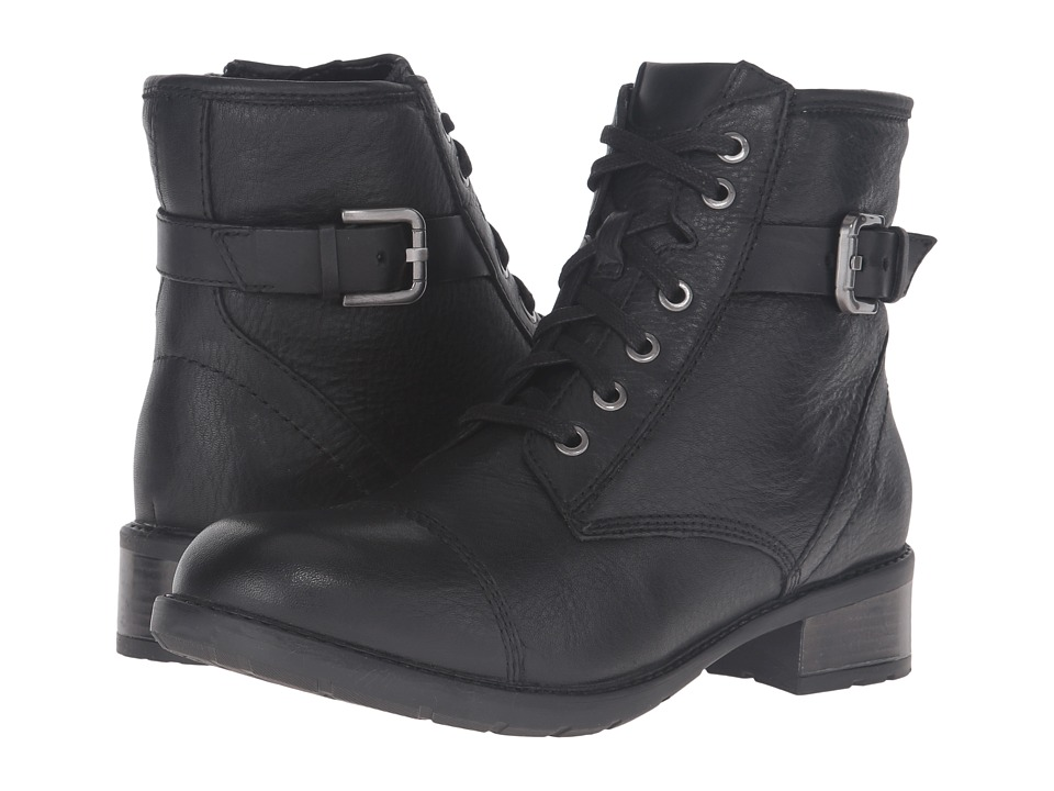 Clarks - Swansea Ledge (Black Leather) Women's Boots