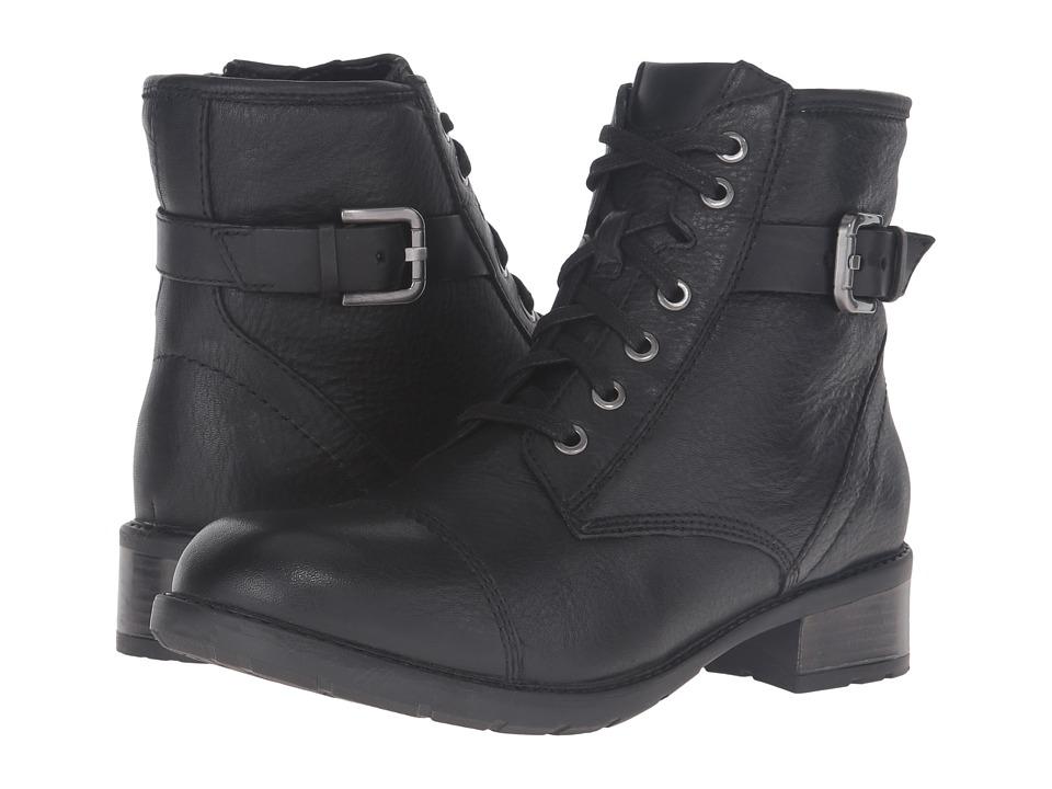 Clarks - Swansea Ledge (Black Leather) Women's Boots