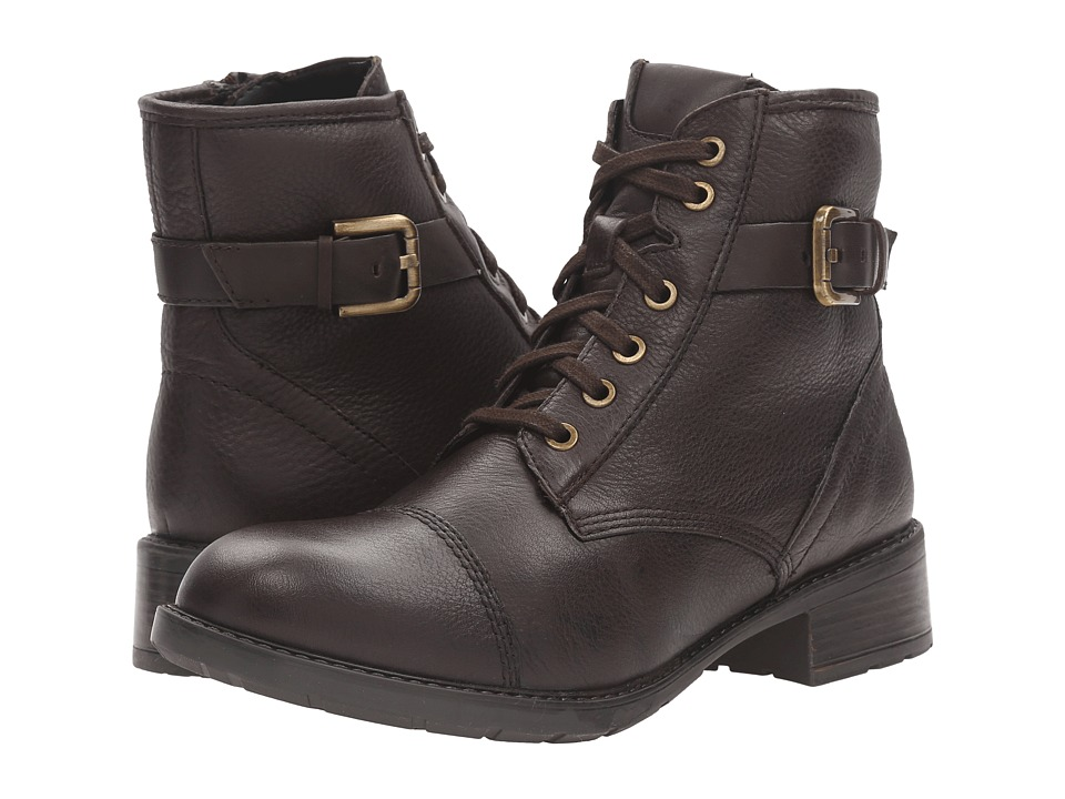 Clarks - Swansea Ledge (Dark Brown Leather) Women's Boots