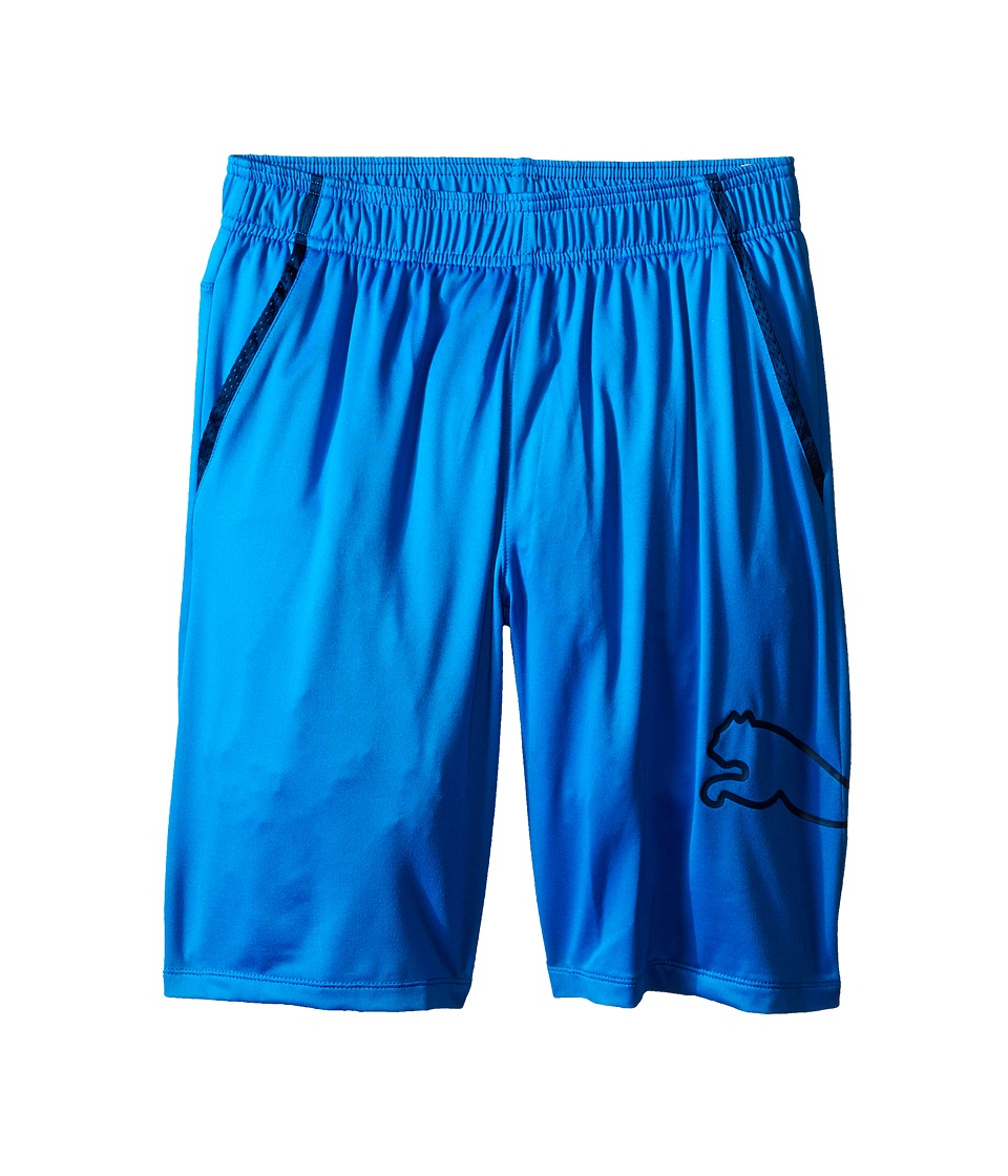 Puma Kids - Tech Comfort Shorts w/ Side Cat (Big Kids) (Sky Blue) Boy's Shorts