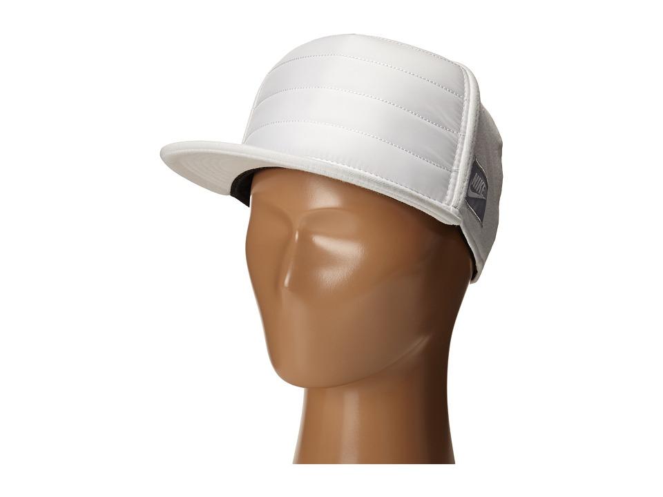 Nike - Fleece True Hat (Little Kids/Big Kids) (White/White/Wolf Grey) Caps