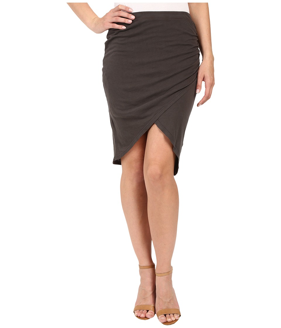 Splendid - Vintage Whisper Tulip Skirt (Lead) Women's Skirt