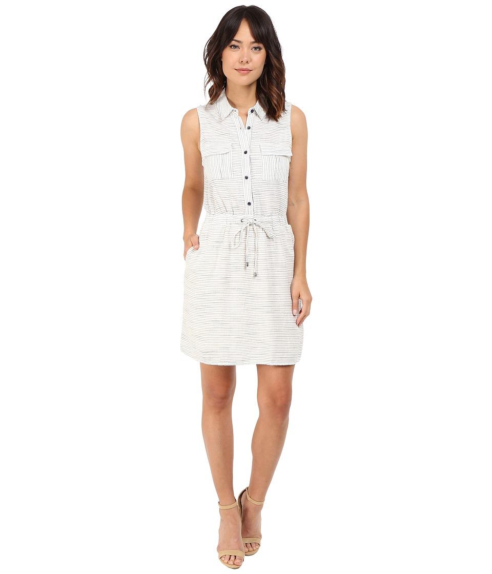 Splendid - Marina Pinstripe Dress (Natural) Women's Dress