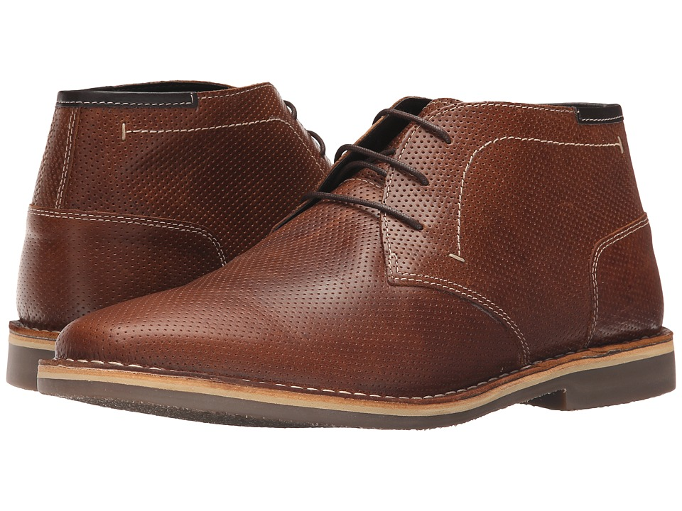 Steve Madden Helee1 (Extended Sizes) (Cognac) Men