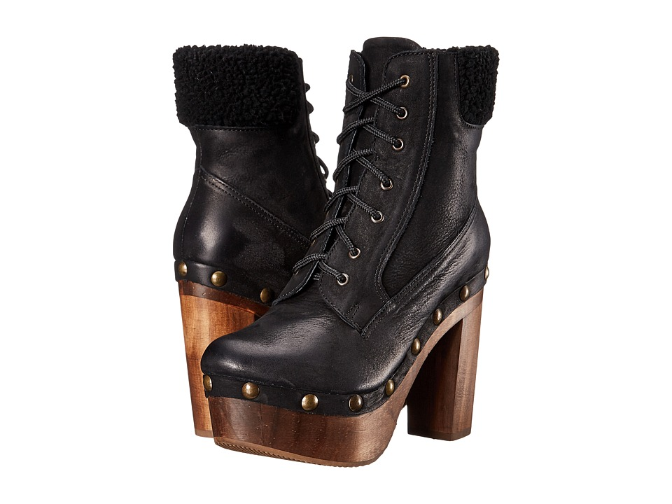 Cordani - Teresa (Black Nubuck) Women's Lace-up Boots