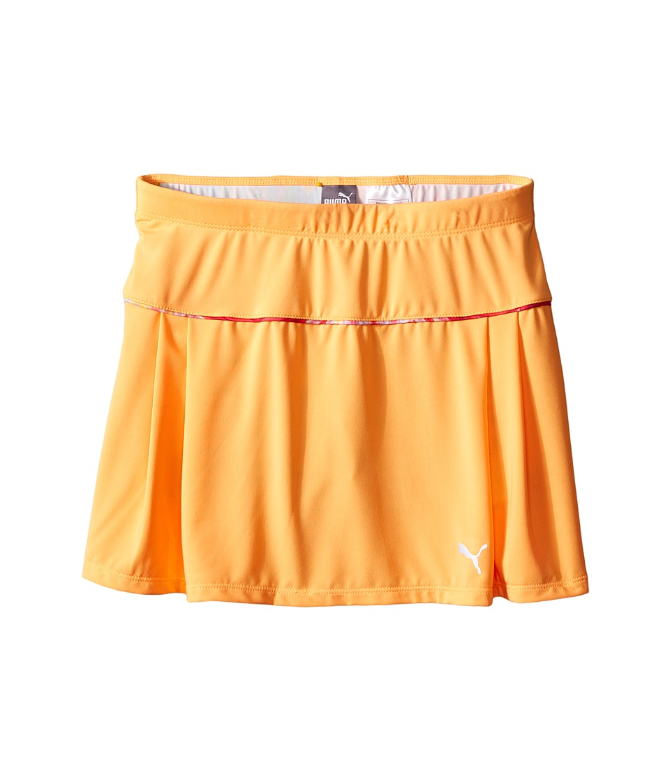 Puma Kids - Swirl Skort (Big Kids) (Orange Pop) Girl's Skort