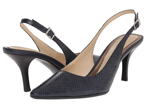 Calvin Klein - Day (Indigo Lux Snake Print Leather) High Heels