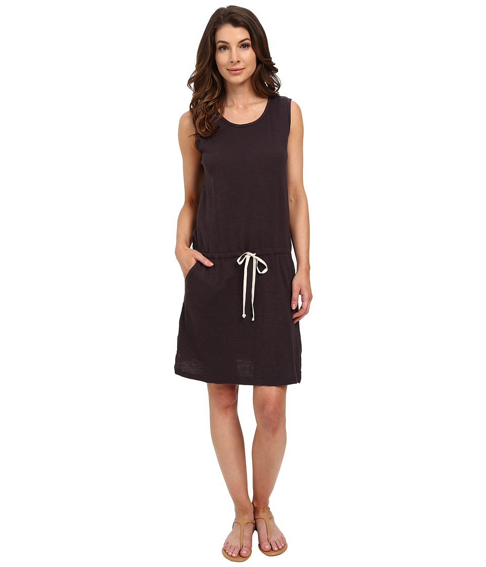 Allen Allen - Drawstring Tank Dress (Jet Grey) Women's Dress