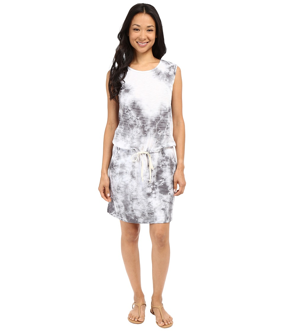 Allen Allen Crystal Wash Tank Dress (Flint) Women