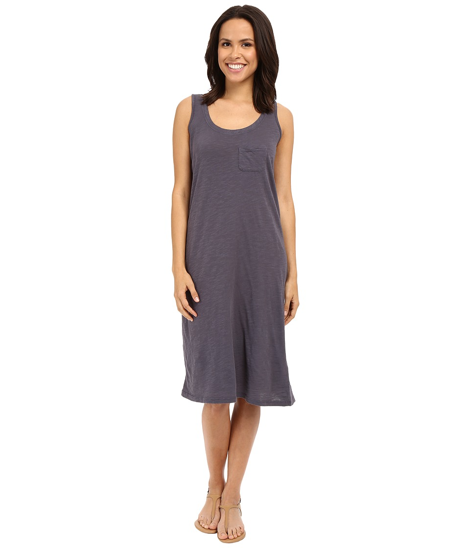 Allen Allen Racerback Tank Dress (Flint) Women
