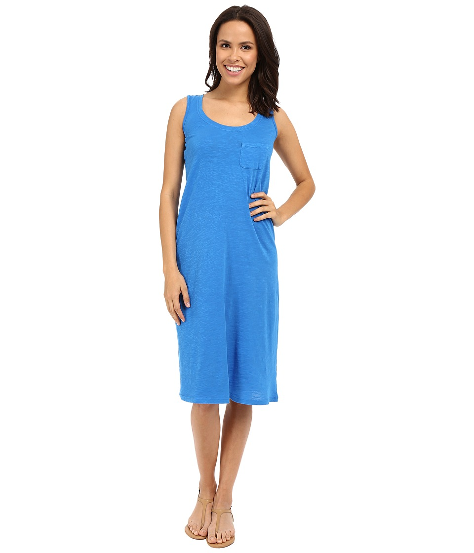 Allen Allen Racerback Tank Dress (Blue Astor) Women