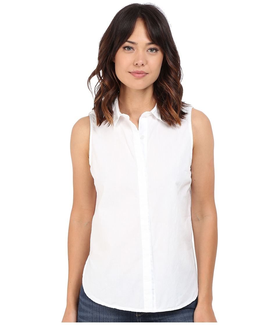 Splendid - High Tide Poplin Tank Top (White) Women's Sleeveless
