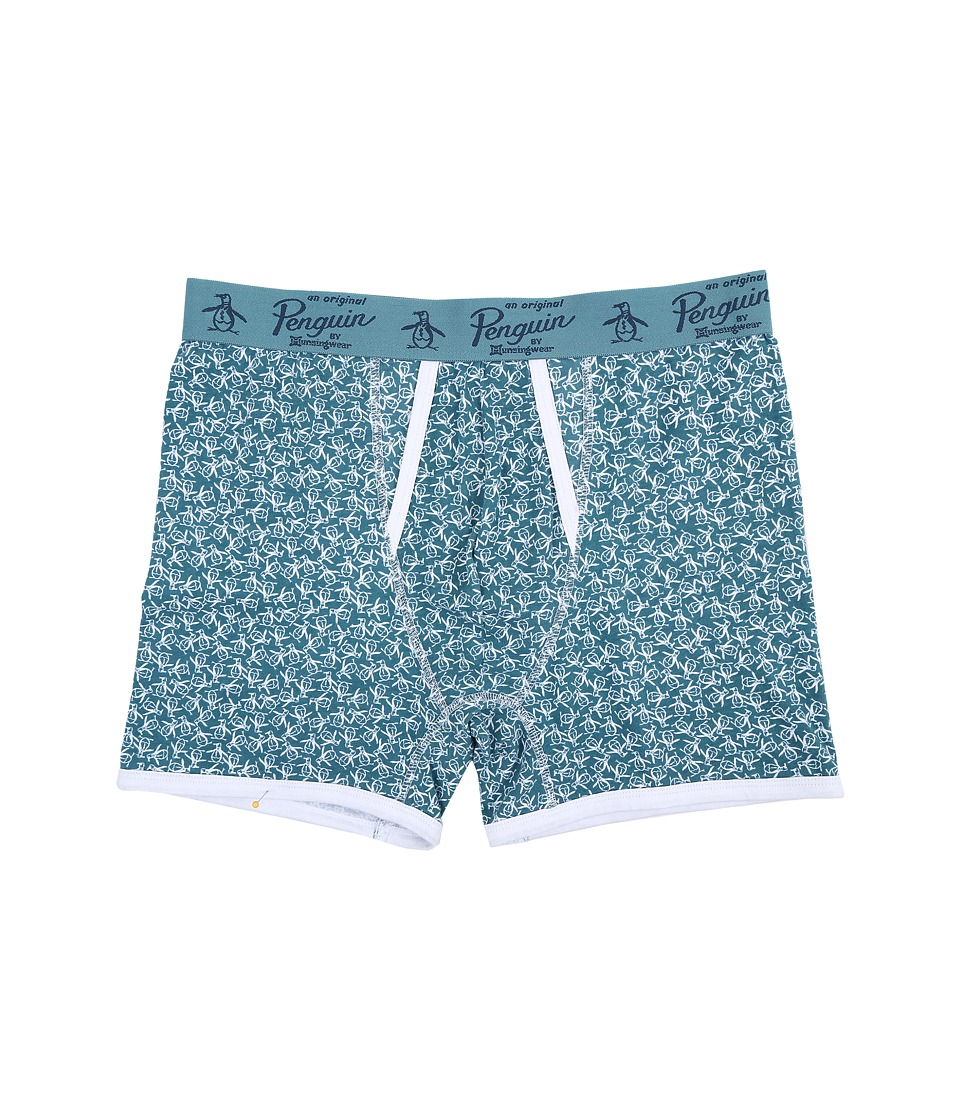 Original Penguin - Single Boxer Brief (Brittany Blue Toss) Men's Underwear