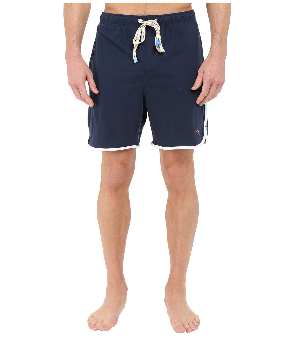 Original Penguin - Retro Sleep Shorts (Dark Denim) Men's Pajama