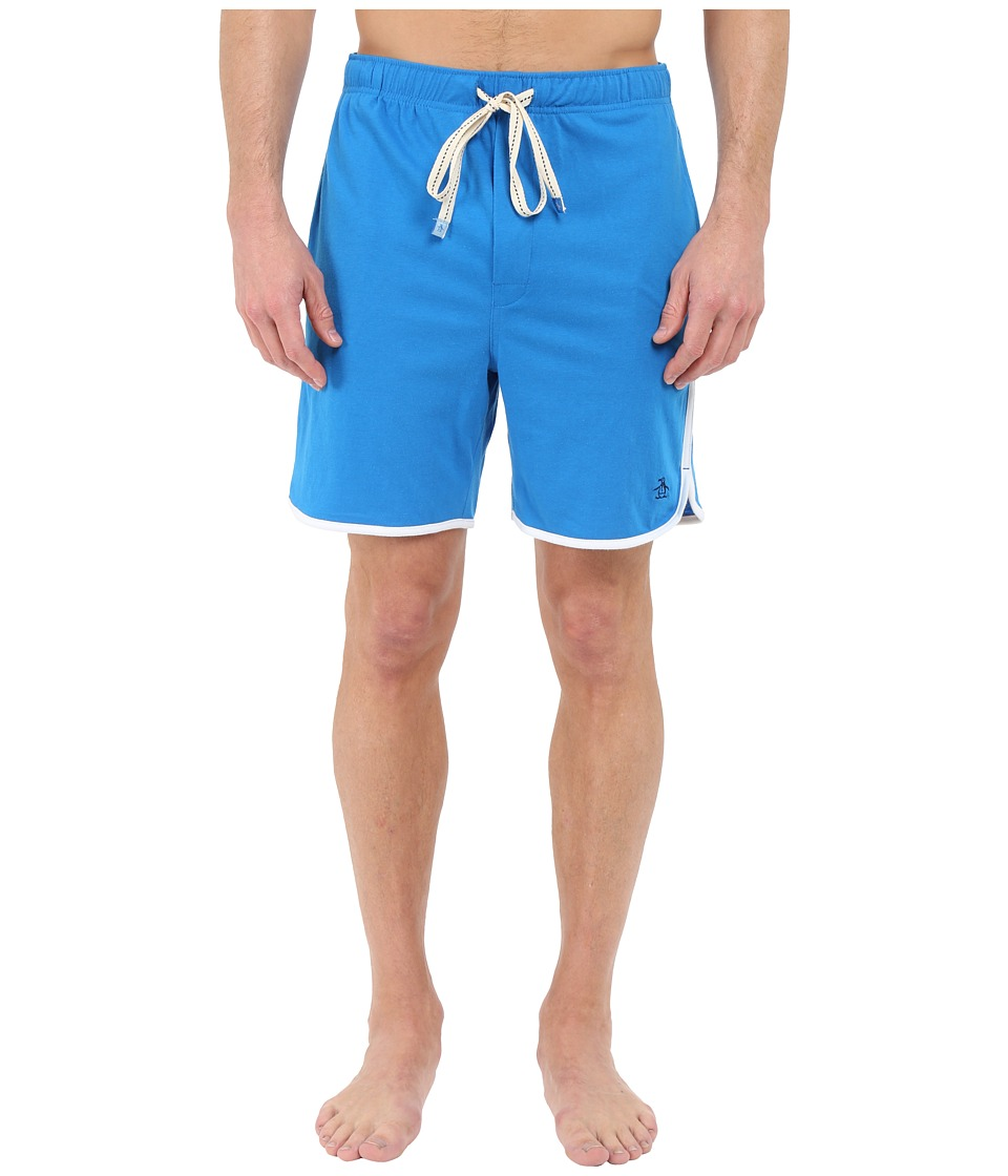 Original Penguin - Retro Sleep Shorts (Directoire Blue) Men's Pajama