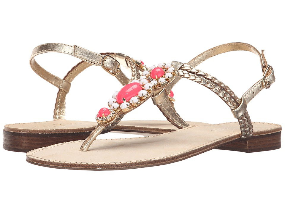 Lilly Pulitzer - Sole Seaurchin Sandal (Gold Metal) Women