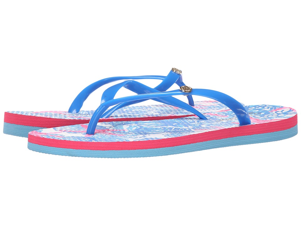 Lilly Pulitzer - Pool Flip-Flop (Bay Blue) Women